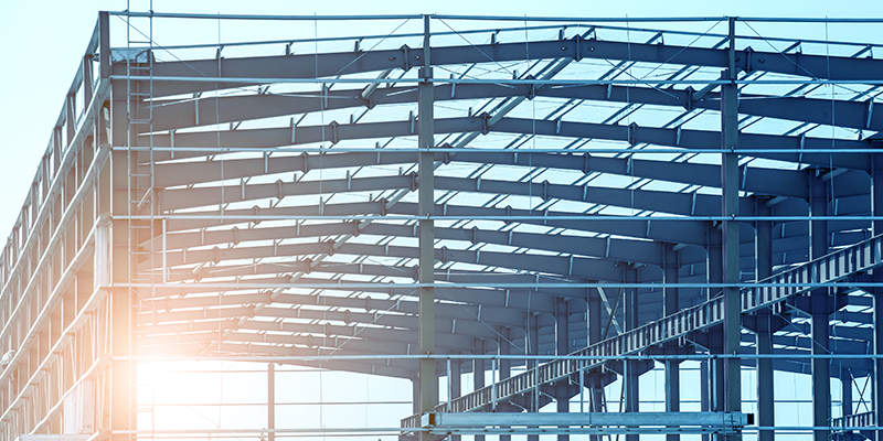 Estruturas metálicas possuem vantagens na hora de construir