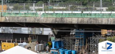 A utilização do Macaqueamento  em viadutos e pontes