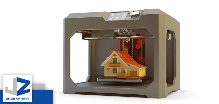 Impressoras 3D na construção de casas