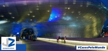 Projetos inovadores: Dongdaemun Design Plaza & Park Seul