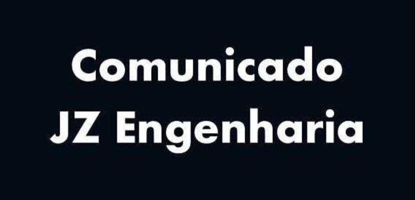 Comunicado JZ Engenharia