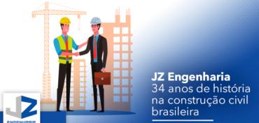 JZ Engenharia completa 34 anos de existência!